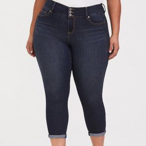 Torrid Jeans First At Fit Cropped Jegging